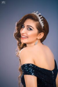 Miss Pakistan World 2020, Areej Chaudhary (First girl to be crowned on the soil of Pakistan)